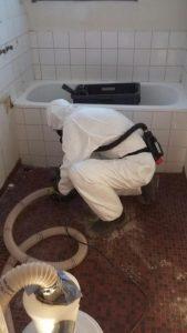 Asbestin purkua